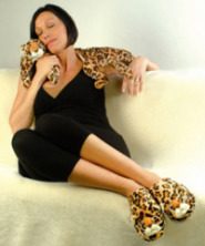 Leopard Slippers Herbal Therapy Collection