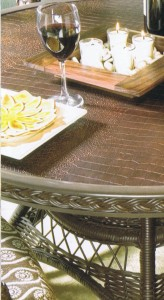 Crocodile outdoor table
