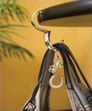 leopard print purse hanger