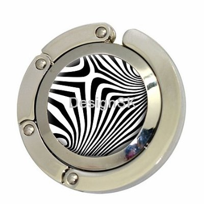 Zebra Print Purse Hook By DesignK
