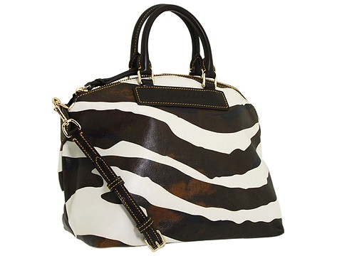 Dooney & Bourke – Zebra Satchel Handbag