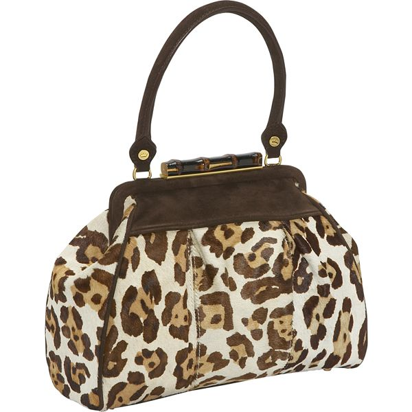Elaine Turner Cheetah Haircalf Handbag
