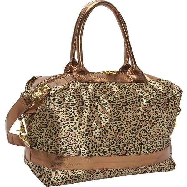 Lisa David Designs Leopard Sport Tote