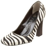 Jessica Bennett Women's Haircalf Zebra Pump Shoes