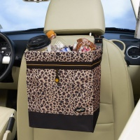 Auto Litter Bag in Leopard Print by Talus