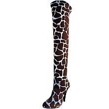 Two Lips Women's Safari Giraffe Boot