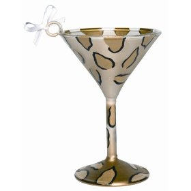animal print martini set