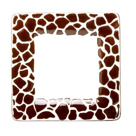 Laurie Gates Safari Giraffe Salad Plates, Set of 4