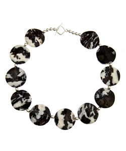 Karibou Mexican Zebra Jasper Necklace