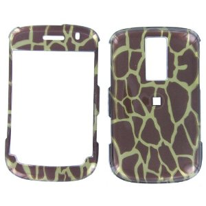 Blackberry 9000 3D Giraffe Animal Print