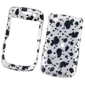 RIM Blackberry Gemini 8520 T-Mobile/ AT&T Snap On Protector Hard Case Dalmatian