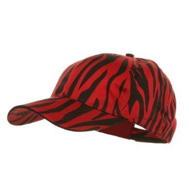 red zebra cap