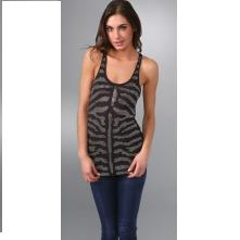 Torn by Ronny Kobo Ann Crystals Zebra Tank