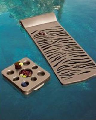 zebra pool float