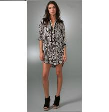 T-Bags Zebra Tunic Dress