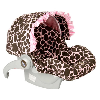 Giraffe Infant Car Seat Cover