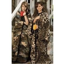 Leopard Skin Warm Me-Up Blanket
