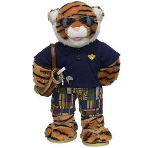 Built-A-Bear Workshop Tee Time Tiger