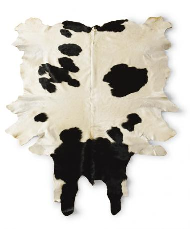 Black And White Cow Hide Area Rug