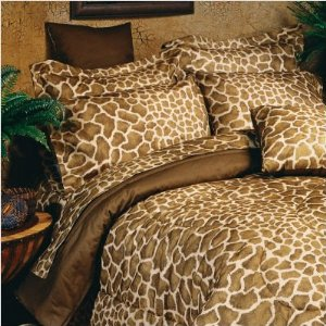 Giraffe Print Flex Fit Sheet Set