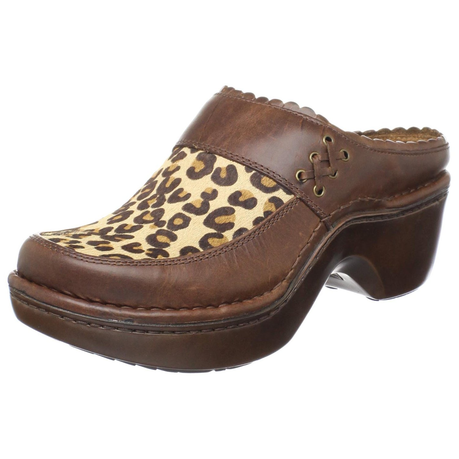 Ariat Leopard Hair On Hide Women's Mule Shoes
