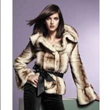 Newport News Faux Fur Jacket