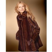 Spiegel Mink Faux Fur Coat