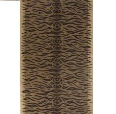 5′ x 8′ Tiger Print Area Rug – Sahara