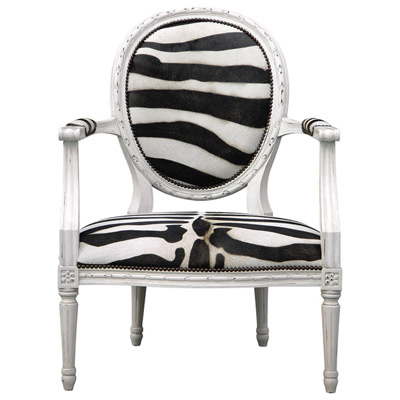 Oly Studio Zebra French Chair