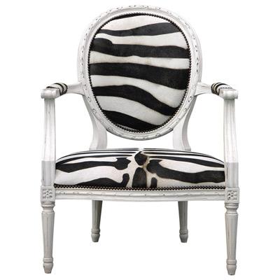 Zebra Print Furniture LIVING ROOM CHAIRS