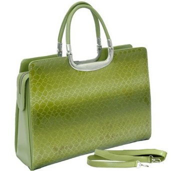 Croco Womens Designer Briefcase – Laptop Bag