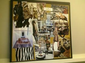 animal print fabric palette