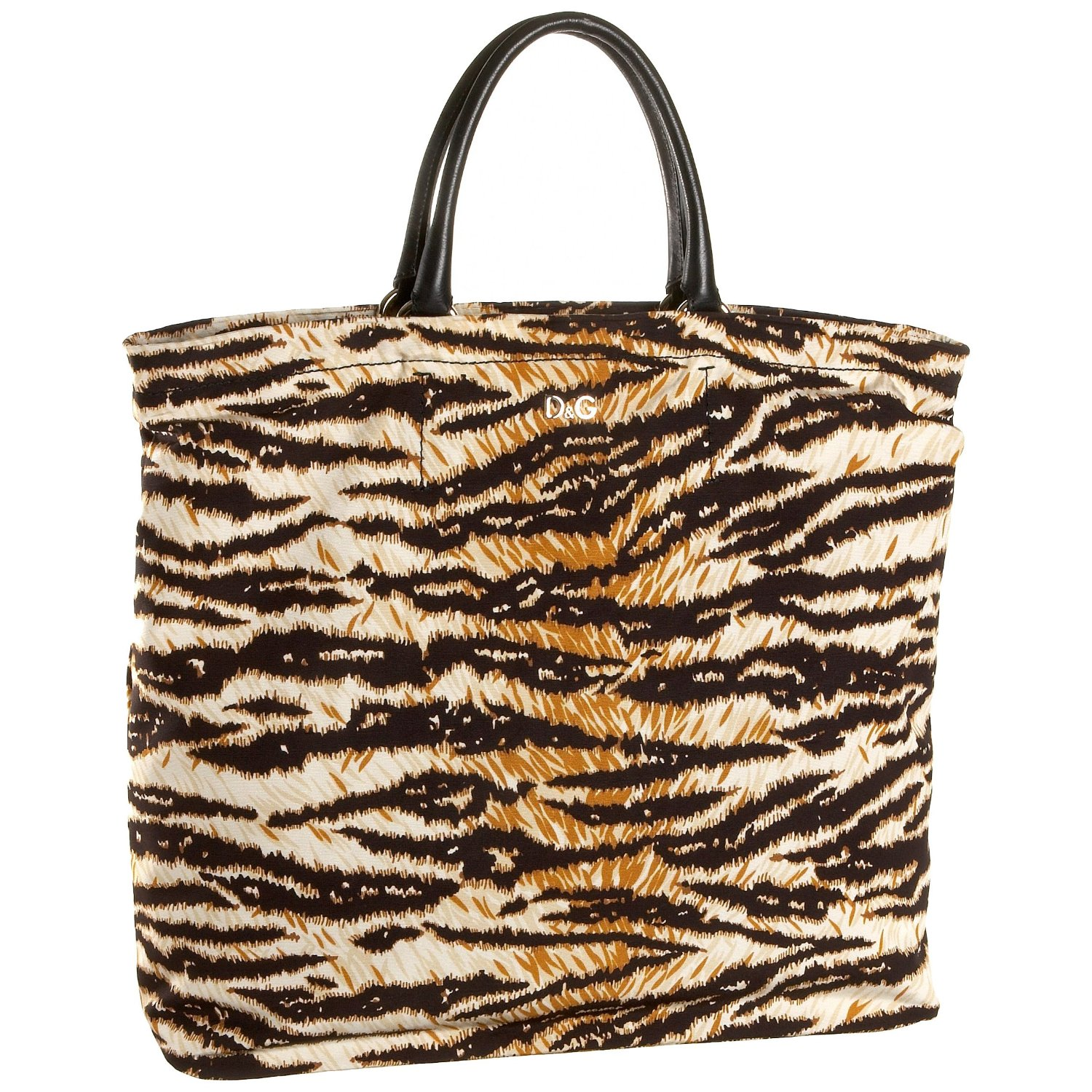 D&G Dolce & Gabbana Large Tiger Print Tote
