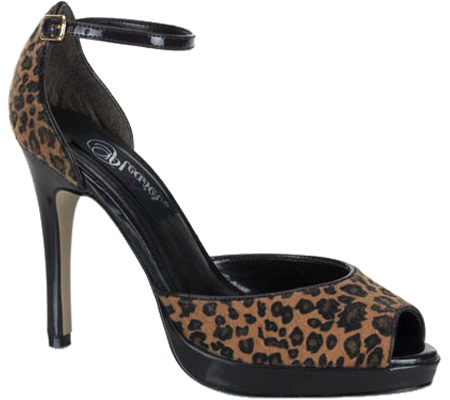 Leopard Pony Hair Stiletto Pump Shoe