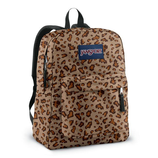 JanSport School Leopard Backpack