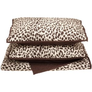 Regal 300 Thread-Count Cheetah Print Quilt Set