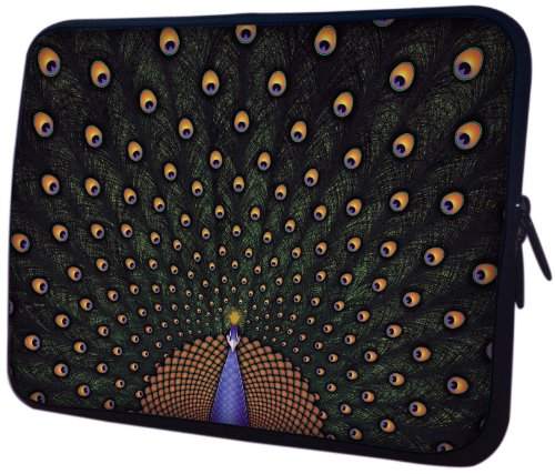 MacBook, Acer, ASUS, Dell, HP, Lenovo, Sony, Toshiba Laptop Sleeve Case – Peacock