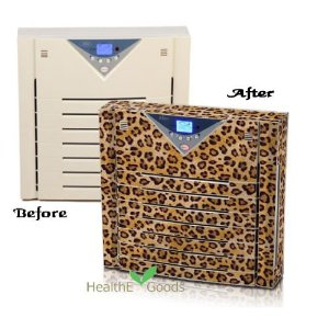 Alen A375 UV Multi Gas HEPA Air Purifier with Leopard Spots Skin