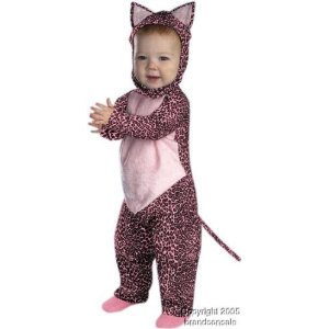 Baby Infant Pink Leopard Halloween Costume 12-18M