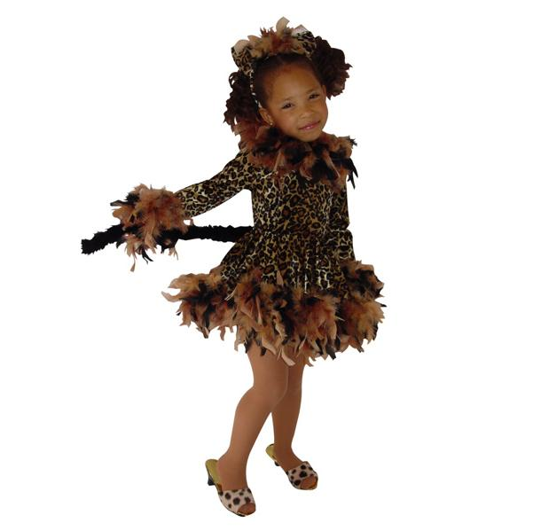 Chandelle Leopard Girls Costume