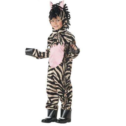 Child's Toddler Zebra Halloween Costume