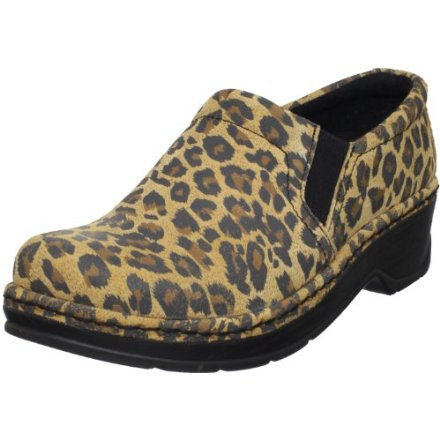 Klogs USA Women's Cheetah Print Clog
