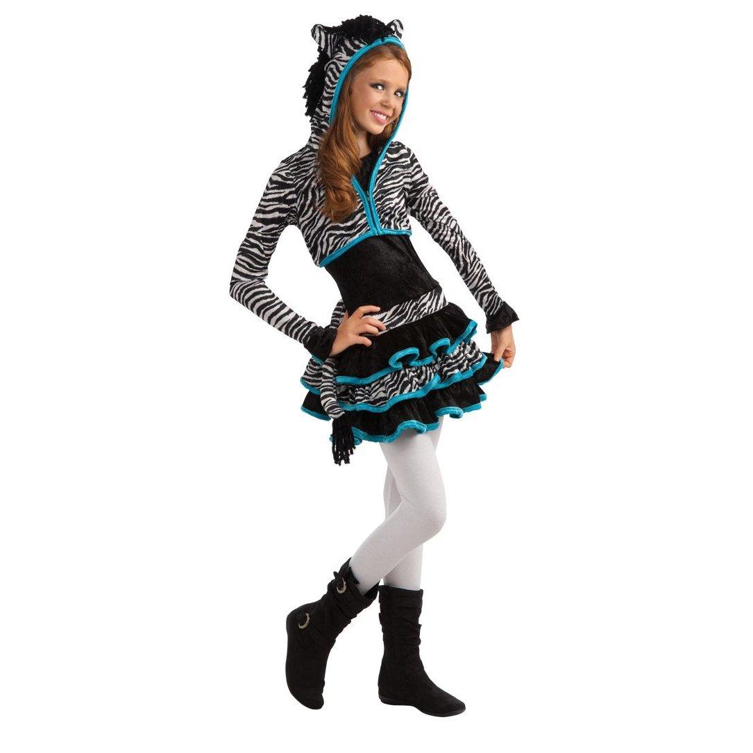Rubie's Drama Queens Tween Zebra Costume