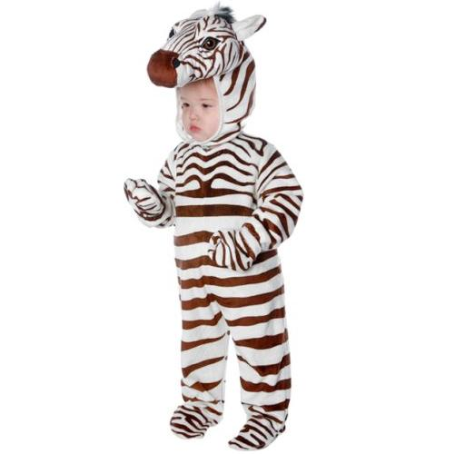 Zebra Plush Toddler Costume