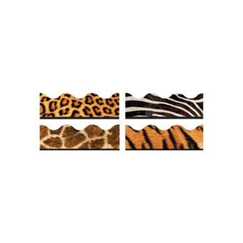 Animal Print Trimmer Party Decoration