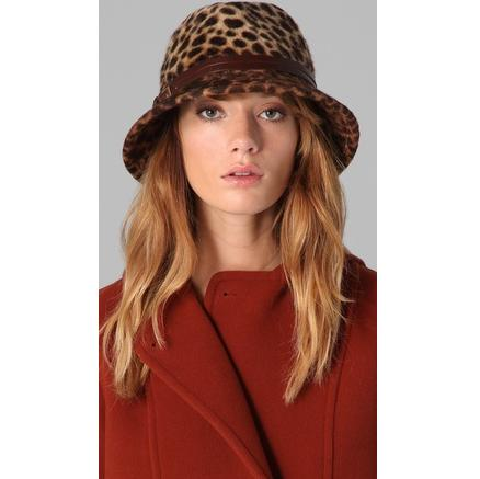 Eugenia Kim Cheetah Hat