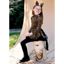 Leopard Girl Costume