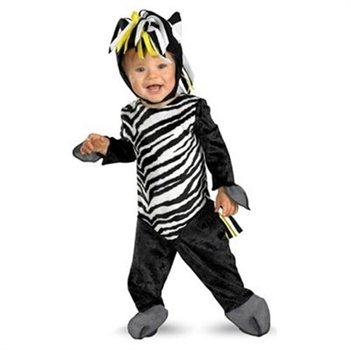 Toddler Zebra Halloween Costume