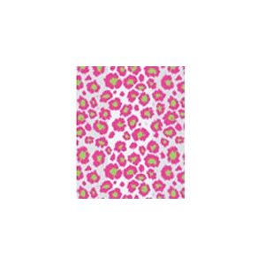 20/Set All-occasion Favor Gift Bag – Pink Lime Leopard Animal Print