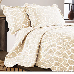 Giraffe Cotton Quilt  Bedding Set